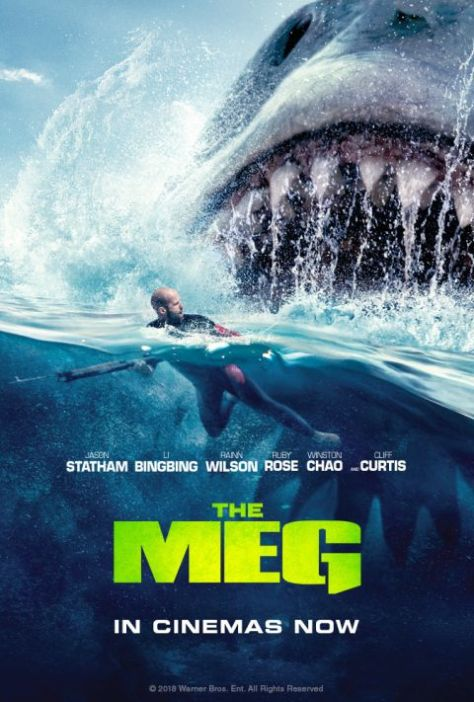 movie posters, warner brothers pictures, the meg