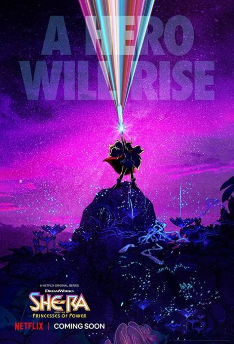 television posters, promotional posters, netflix, netflix original, dreamworks, dreamworks animation television, she-ra, she-ra and the princesses of power