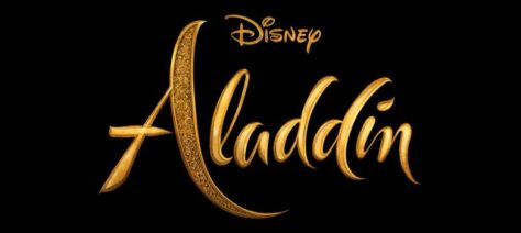 walt disney pictures, aladdin movie logo