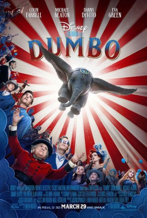 movie posters, walt disney pictures, dumbo