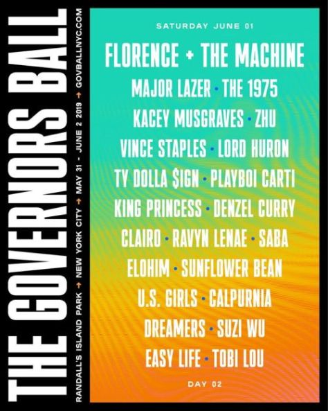 music festivals, the governors ball music festival, the governors ball music festival 2019