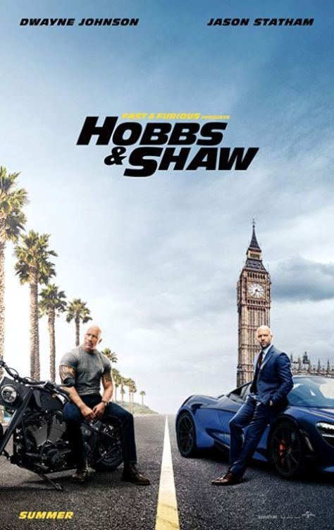movie posters, promotional posters, universal pictures, fast and furious presents hobbs and shaw