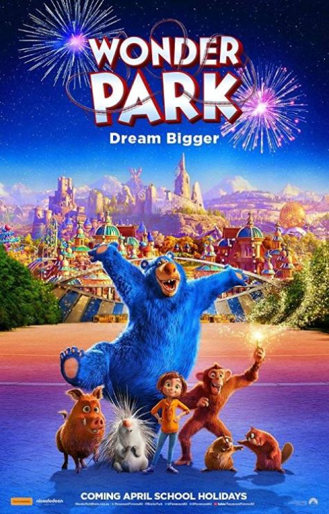 movie posters, promotional posters, wonder park, wonder park posters