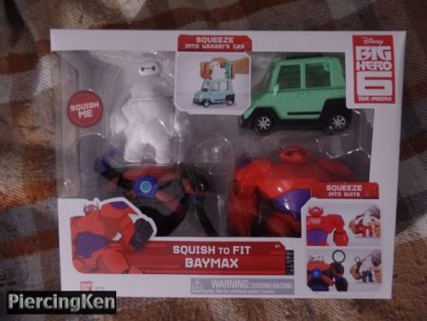 bandai, big hero 6, squish-to-fit baymax