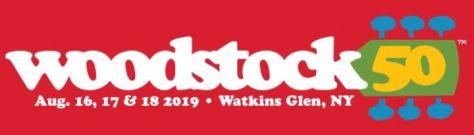 woodstock 50th logo