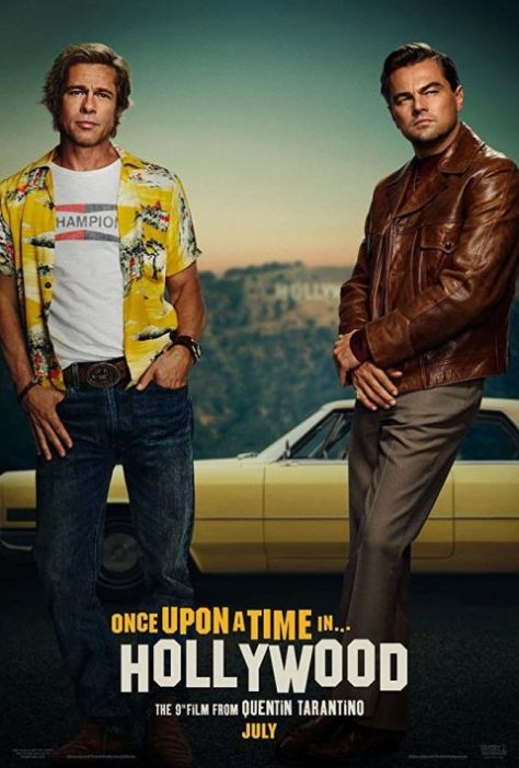 movie posters, promotional posters, once upon a time in hollywood, sony pictures entertainment