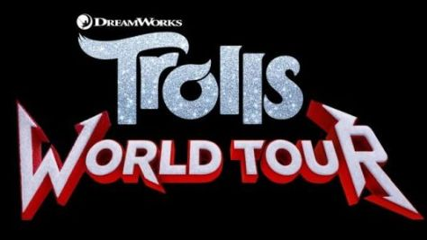 trolls world tour movie logo
