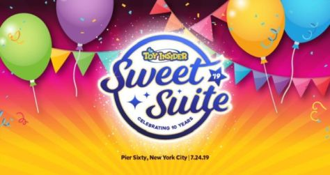 sweet suite 2019, sweet suite, toy insider