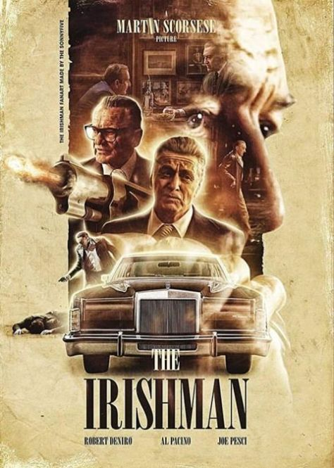 movie posters, promotional posters, the irishman