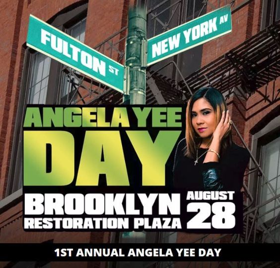 "VP Records To Sponsor First-Ever ""Angela Yee Day"" @ Restoration Plaza,  Brooklyn"