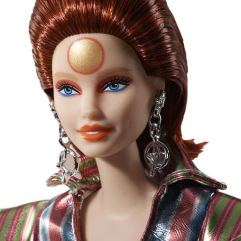 mattel, barbie, david bowie, bowie, fashion dolls, barbie david bowie, barbie signature series