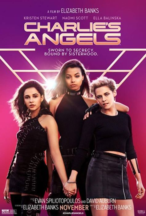 movie posters, promotional posters, sony pictures, charlie's angels