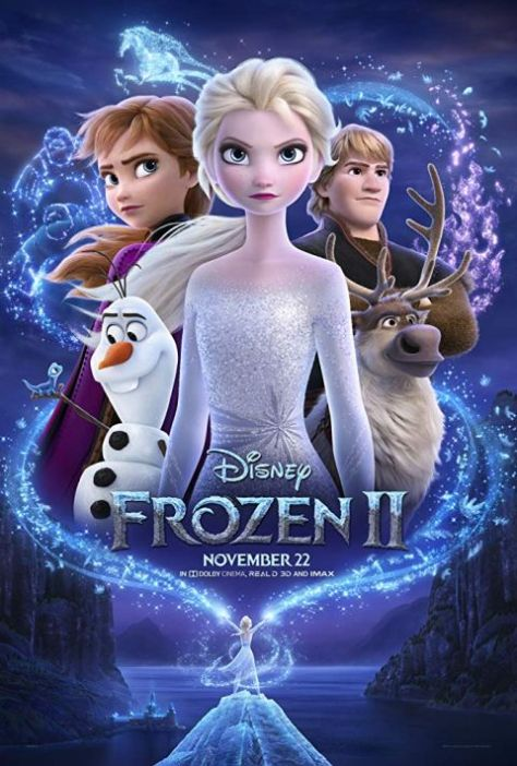 movie posters, promotional posters, walt disney pictures, frozen ii, frozen ii posters