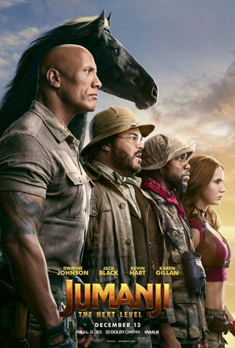 movie posters, promotional posters, sony pictures, jumanji the next level