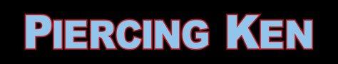 piercing ken logo across