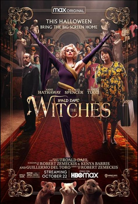 movie posters, promotional posters, warner brothers pictures, hbo max, the witches