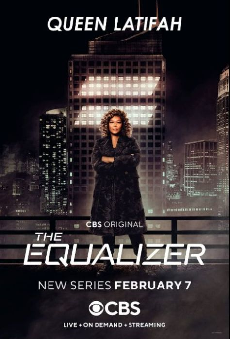 television posters, promotional posters, cbs original, the equalizer