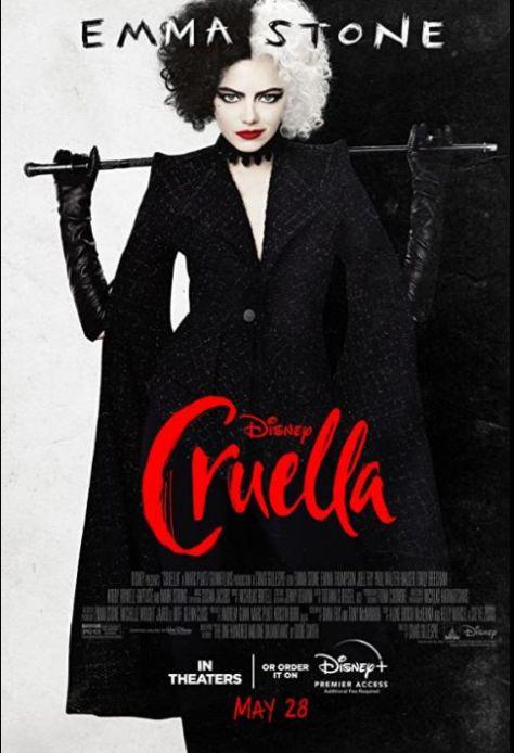 movie posters, promotional posters, walt disney studios, cruella
