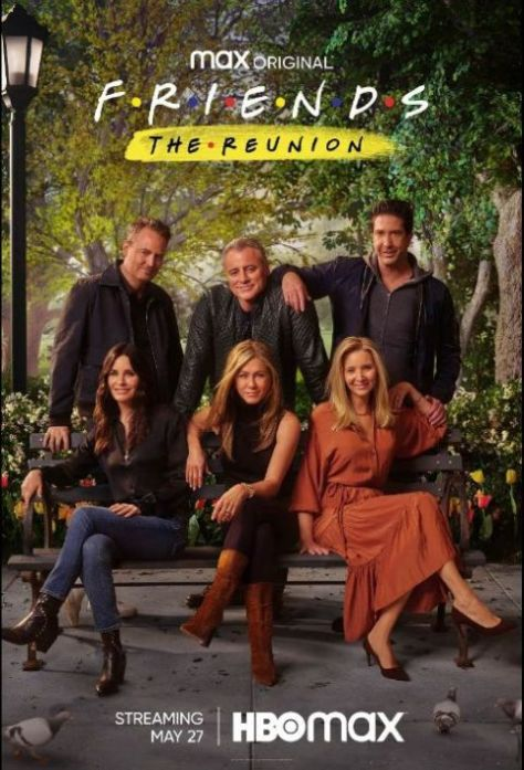 promotional posters, television posters, warner brothers television, friends the reunion