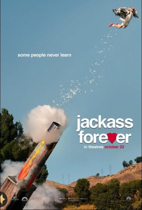 movie posters, promotional posters, paramount pictures, jackass forever, jackass forever posters