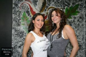 Jenisa and Monica