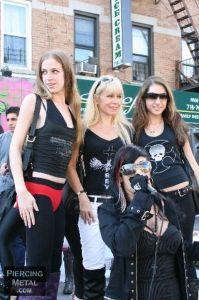 Danielle, Roberta Thompson, Gina & Ms. Jenncity