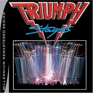 """Stages"" (remastered) by Triumph"