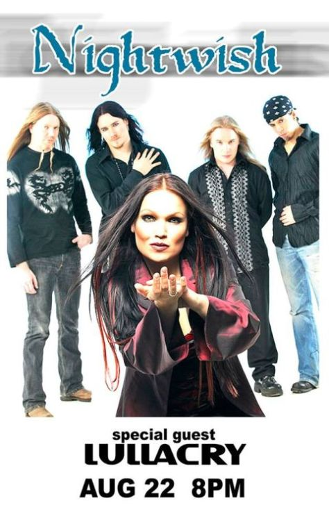 nightwish, nightwish show posters, bb king blues club posters