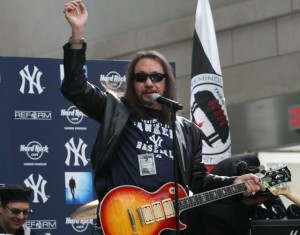 Ace Frehley takes the stage