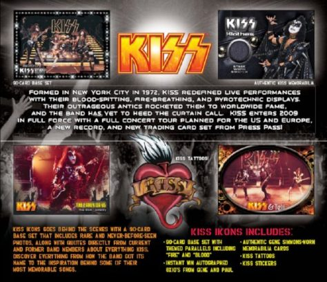 Trading Cards - KISS - Ikons - 2009