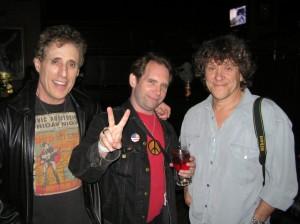 Ken Pierce with Joel Rosenman (L) & Michael Lang (R)