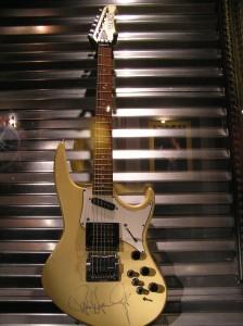 Paul Stanley's Hamer Guitar