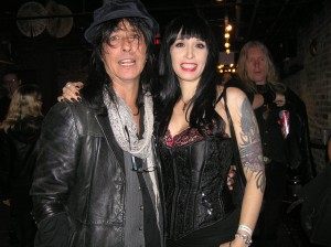 Ronnie Sweetheart (The Throbs) & Queen Vixen (Cycle Sluts From Hell)