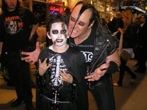Jerry Only and Halloween Reveler