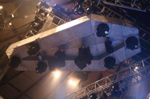 Metallica Coffin Lighting Rig