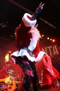 "Santa Dee says ""Catch"""