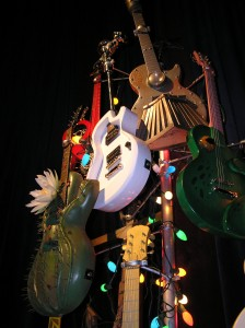 A Twisted Guitar X-Mas Tree