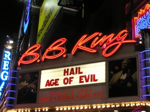 The Marquee: HAIL! Invades B.B. King Blues Club