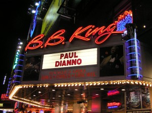 The B.B. King's Marquee: Paul DiAnno Invades NYC