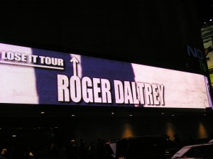 Nokia Theatre NYC: Roger Daltrey hits The Big Apple