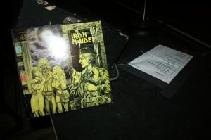 "Vintage Iron Maiden EP for ""Women In Uniform"""