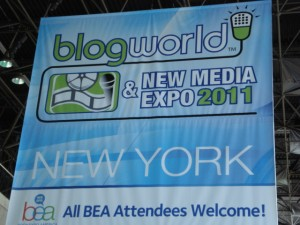 blogworld and new media expo 2011