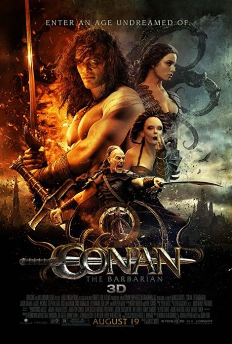 movie posters, promotional posters, conan the barbarian, nu image films