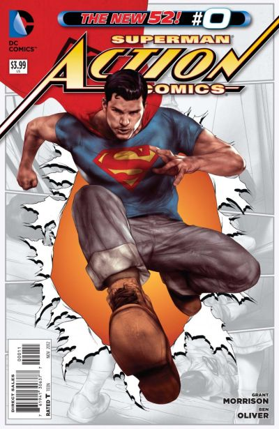 Comic - Action Comics 0 - 2012
