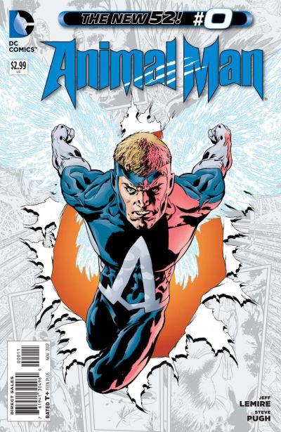 Comic - Animal Man 0 - 2012