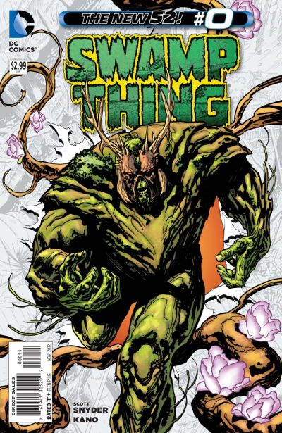 Comic - Swamp Thing 0 - 2012