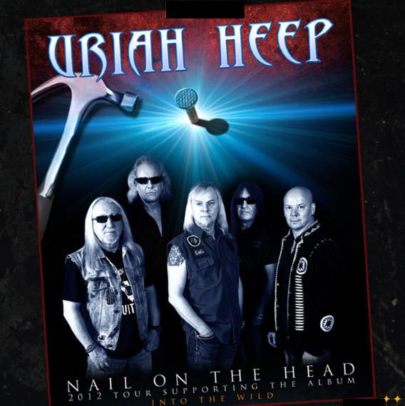 Want To See Uriah Heep In Concert In Nyc On 11 14 2012 Piercingmetal Com