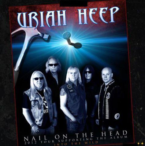 Poster - Uriah Heep - 2012