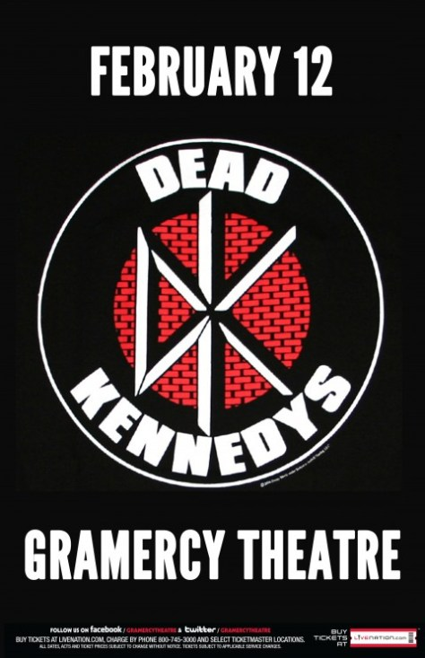 Poster - Dead Kennedys - 2013