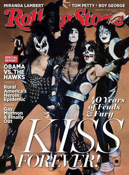 Magazine - KISS on Rolling Stone - 2014